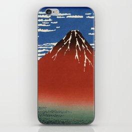 South Wind, Clear Sky (Gaifū kaisei or 凱風快晴) iPhone Skin