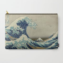 The Great Wave off Kanagawa Carry-All Pouch