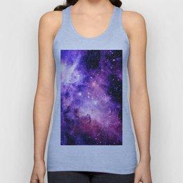 Galaxy Nebula Purple Pink : Carina Nebula Unisex Tank Top