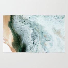 Geode Trip Abstract Painting Rug