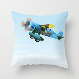 Vintage Prop aircraft Throw Pillow