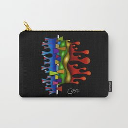 Abstract digital art - Grafenonci V2 Carry-All Pouch