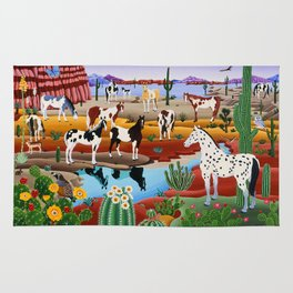 Painted Horses Rug