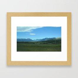 TRADITIONAL ALBERTA Framed Art Print