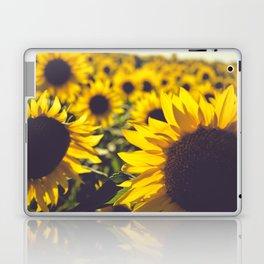 Summer Sunflower Love Laptop & iPad Skin
