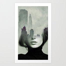 Ny again Art Print