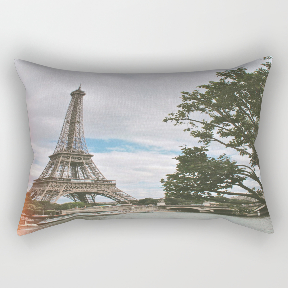 From Paris, With Love Rectangular Pillow RPW8667071