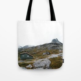 Cabins Tote Bag