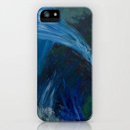 Aqua 19 iPhone Case