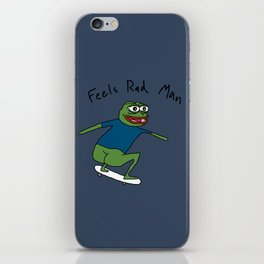Pepe SB (rough) iPhone Skin