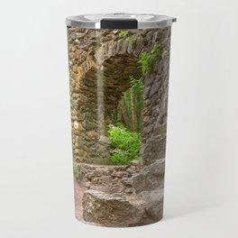 Forest Castle Ruins Travel Mug