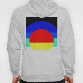 Colorful Mod Abstract Hoody