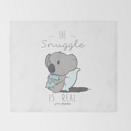 Koala Snuggle Throw Blanket