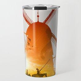Fighting Giants (light version) Travel Mug