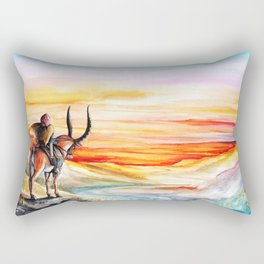 """Sunset"" Rectangular Pillow"