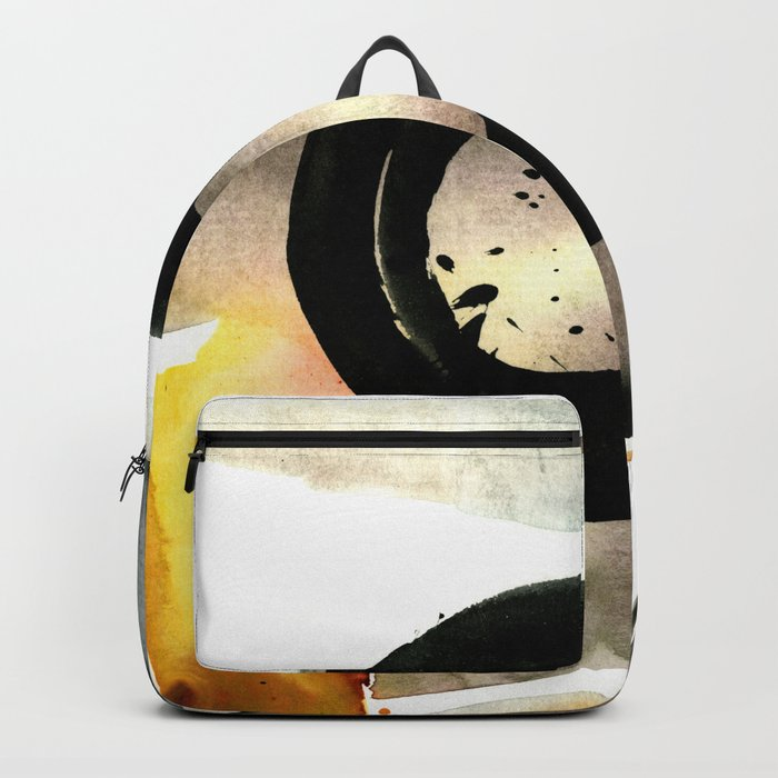 Enso Abstraction No. 105 by Kathy morton Stanion Backpack