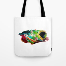 Colorsfull sheep skull Tote Bag