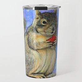 Cheeky Squirrel Travel Mug