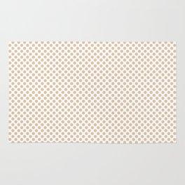 Apricot Illusion Polka Dots Rug