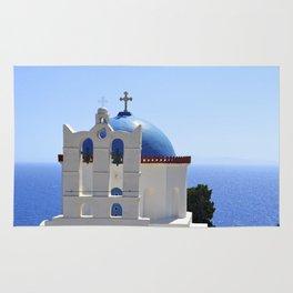 Blue Top Church Rug