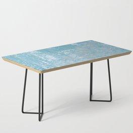 Vintage Galvanized Metal Coffee Table