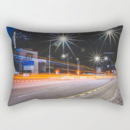 Long Exposure Rectangular Pillow