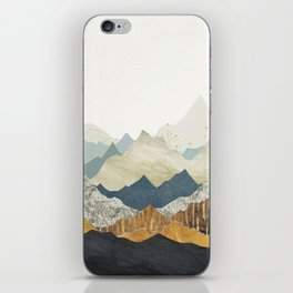 Distant Peaks iPhone Skin