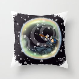 Lovecraft Cuties Set 01: The Render of Veils Dao Throw Pillow