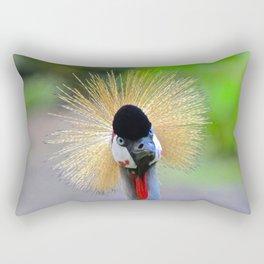 curious crane Rectangular Pillow