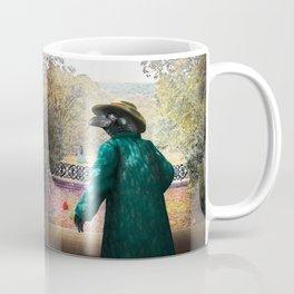 Ronaldo Raven on his way to a Romantic Rendezvous Coffee Mug
