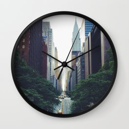 Morning in the Empire Wall Clock