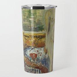 The Death of Marat II by Edvard Munch Travel Mug