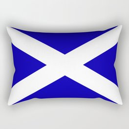 Scottish Flag Rectangular Pillow