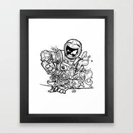 Space Bar Framed Art Print