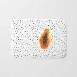 Papaya vibes Bath Mat