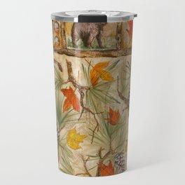 Autumn with Pine Travel Mug