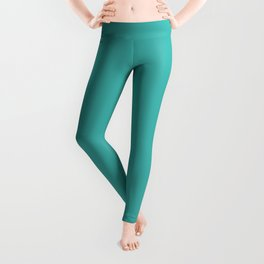 Verdigris Cyan Leggings