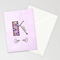 K {kay} Stationery Cards