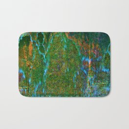 Flowing Water Abstract Bath Mat