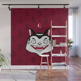 Count Dracula Von Kitteh Wall Mural