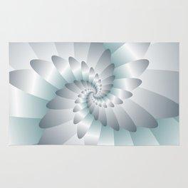 Swirl Wings Art Rug