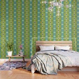 Lettuce Bloom Kaleidoscope Wallpaper