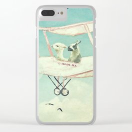 Never Stop Exploring III - THE SKY Clear iPhone Case