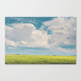 Gallatin County Storm Clouds Canvas Print
