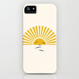 Minimalistic Summer I iPhone Case
