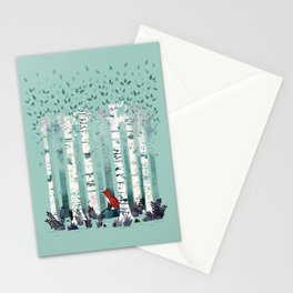 The Birches Stationery Cards