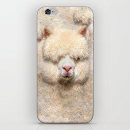 GOOD VIBES ALPACA iPhone Skin