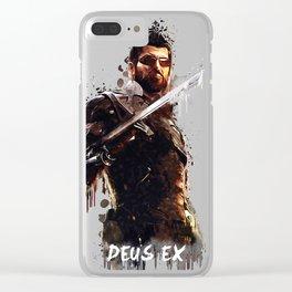 Deus Ex Clear iPhone Case