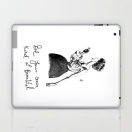Cigarette Girl with Bow Dress Laptop & iPad Skin