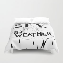 You are the sky Duvet Cover